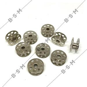 High Quality Steel Bobbins X 9  JUKI 1541 Walking Foot Industrial Sewing Machine