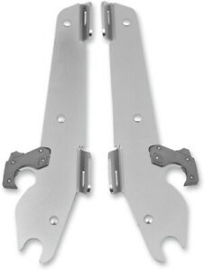 Memphis Shades Plates-Only Kit for Batwing Fairing Polished MEK1805 No Tool