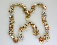 Vintage Loft Rhinestone Collar Necklace