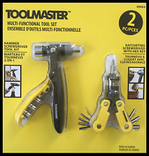 GENUINE Toolmaster Multi Function 2 Pce Tool Set  Free Post Superfast Delivery!!