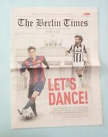 THE BERLIN TIMES FINALE CHAMPIONS LEAGUE 2015 JUVENTUS BARCELONA MESSI PIRLO