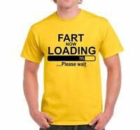 FART LOADING Mens Funny Printed T Shirt rude novelty jokes - gift Birthday