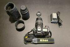 Nikon D80 10.2Mp Digital Slr Camera Bundle