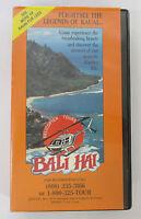 Vintage BALI HAI Kauai Helicopter Tours VHS 1980s Hawaii (pre Jurassic Park)