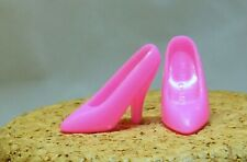 Barbie Doll Bright Pink Pumps Heeled Shoes F52