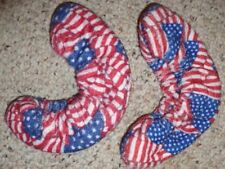 New listing Terry Blade Soakers for Figure Skates or Ice Hockey Skates one pr American Flag