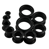 20PCS Silicone Ear Plugs Set Earskin Gauges Ear Expander Tunnels Stretching Kit