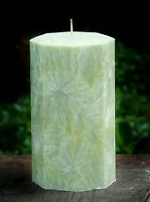 200hr GREEN TEA, MELONS & CUCUMBER Refreshing ECO CANDLE Handmade & Gift Wrapped
