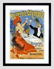 Paris Vintage Framed Decorative Posters & Prints
