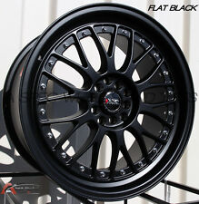 XXR 521 18X8.5 Rims 5x114.3/120 +25 Black Wheels (Set of 4)