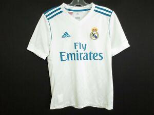 REAL MADRID Team Apparel #7 RONALOD Spain La Liga Jersey Shirt Boys Large
