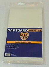 300 Saf-T-Gard 7 X 10-1/2 + 1.5 MODERN / CURRENT COMIC STORAGE BAG - MOD