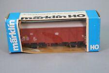 ZJ002 MARKLIN Wagon Ho 4411 Marchandises de queue ferme type Gs-uv