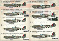 NEW 1:72 Print Scale Decals 72382 Supermarine Spitfire Aces of Northwest Europe