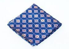 Lord R Colton Masterworks Pocket Square Salvador Sapphire Silk - $75 Retail New