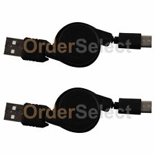 2 USB Type C Retract Charger Cable for Android Phone BlackBerry DTEK60 HTC 10
