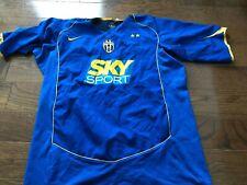 Nike Juventus 2004-05 Futbol Soccer Jersey Blue Sky Sport Large XL