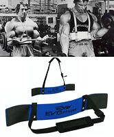 EVO  Arm Blaster Weightlifting Biceps Isolator Gym Support Straps Fitness Wrap