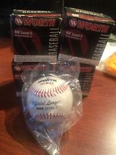 Lot of 4 Worth RIF Little League Ball Level 5 ages 4 to 8 years Low Compression