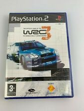 PS2 WRC 3 World Rally Championship, UK Pal, Brand New & Factory Sealed, Flawed