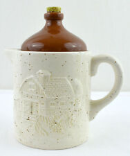 Cute Jug Creamer Ceramic Barn by Houston Harvest Gift Products