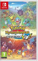 NEW Pokémon Mystery Dungeon: Rescue Team DX - Standard Edition - Switch