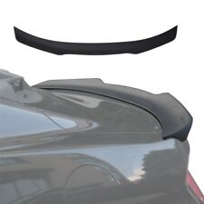 Fit 2015-2017 Ford Mustang Matte Black ABS Rear Trunk Decklid Spoiler Wing
