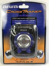 aiwa Cross Trainer Sport AM/FM Stereo Radio Cassette Player HS-SP170 Dead Stock