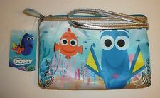 Disney Finding Nemo Dory Cosmetic Bag Wristlet Nwt Make Up Pixar London Soho Nyc