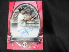 MIKE PIAZZA ON CARD AUTO CARD--2017 TRIBUTE #8/10