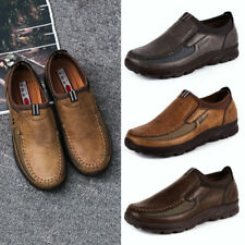 Herrenschuhe Echtleder Halbschuhe Business Schuhe Slipper Schwarz Braun GR.39-48