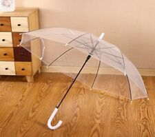 10Pc Clear Wind Water Proof Umbrella Parasol Wedding Favor