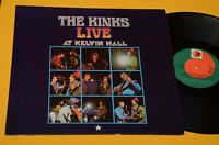 THE KINKS LP LIVE AT KELVIN HALL GERMANY MONO EX+ TOP COLLECTORS