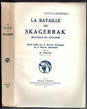 GUERRE 14/18 MARITIME LA BATAILLE DU SKAGERRAK 1929 MARINE ALLEMANDE R. JOUAN