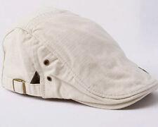 Spring Mens Gatsby Beret Driver Hats Vintage Irish Cabbie Flat Cap S/M