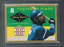 ANDRE DAWSON #DM8 CUBS  Defining Moments Gold 2013 Panini Hometown Heroes