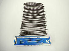 Marklin 2221 HO K Track Outer Curve (Set of 10)