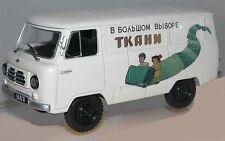 1/43  UAZ 450 4X4 Fourgonnette Tolée RUSSE 1958!