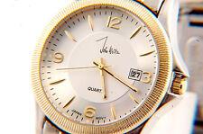 Two tone Luxury Sport Men`s Watch with Date  Calendar