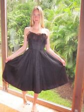 VINTAGE 80s Jolie Madame DRESS fade LACE SWING GOTH STEAMPUNK TULLE TAFFETA  XXS