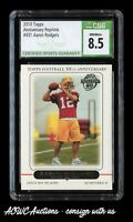 2010 Topps 50th Anniversary #431 - Aaron Rodgers RC Reprint - CSG NM/Mint+ 8.5