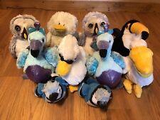 GANZ Webkinz Lot of 10, Pelican, Grey Owls, Blufadoodles & More NO CODES