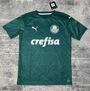 Men's Puma 2020-21 Palmeiras Home Jersey - Size Medium
