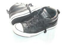 Converse Black Leather All Stars High Top Sneakers Sneakers Size 6.5 Mens 39.5 9