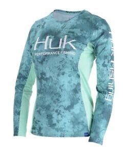 Huk Ladies Icon X Camo Breathable Long Sleeve Shirt
