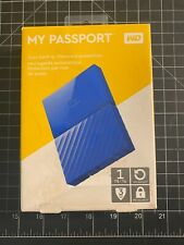 WD - My Passport 1TB External USB 3.0 Portable Hard Drive with Hardware