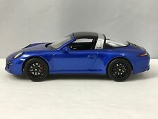 Schuco Porsche 911 (991) Targa 4 GTS Blue Diecast Model Car 1/43