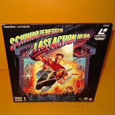 1994 LAST ACTION HERO ARNOLD SCHWARZENEGGER WIDESCREEN DOUBLE LASER DISC PAL