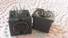 8 POL MINI-DIN   Einbaubuchse Set mit 3 Stück  (auch S-VHS)    24907
