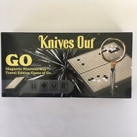 KNIVES OUT Promo GO Board Game 2019 Movie Rian Johnson SEALED NEW EXTREMELY RARE